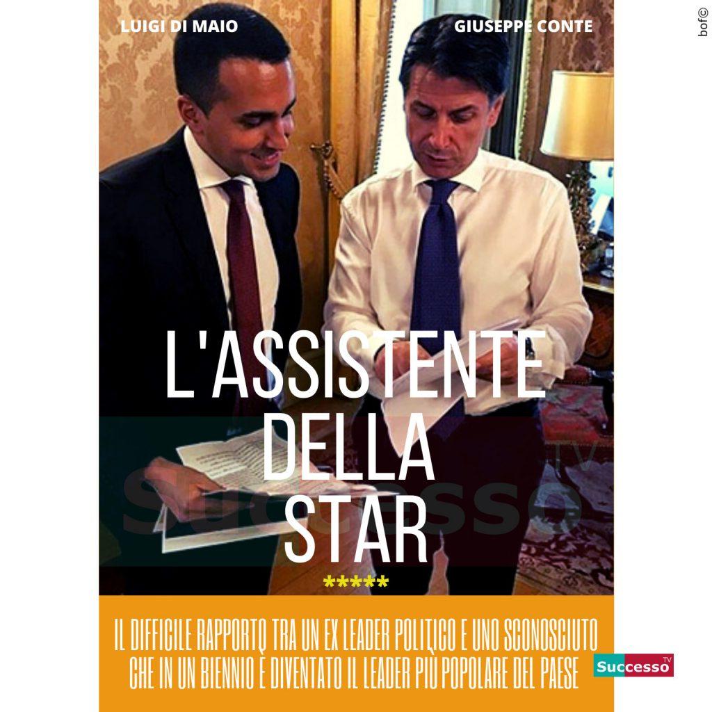 le cartoline di successo tv 2020 Giuseppe Conte Luigi Di Maio