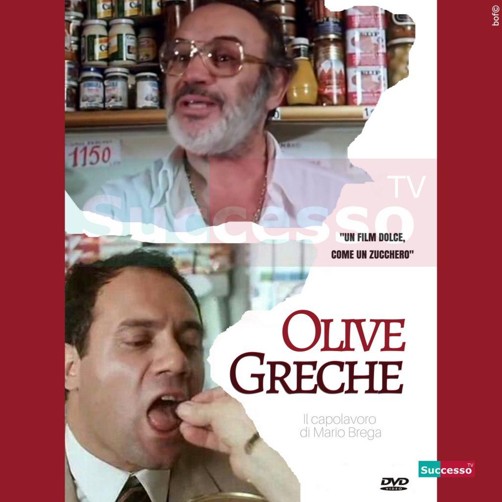 le cartoline di successo tv 2020 Carlo Verdone Mario Brega Olive Greche