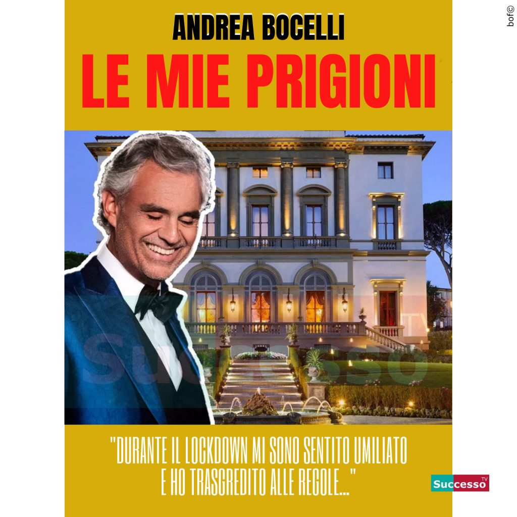le cartoline di successo tv 2020 Coronavirus Quarantena Andrea Bocelli