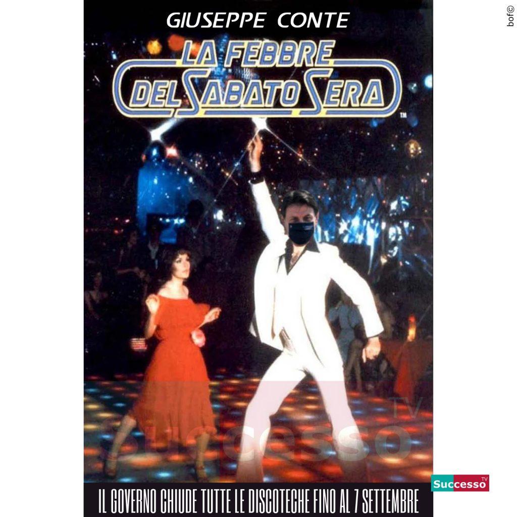 le cartoline di successo tv 2020 Giuseppe Conte
