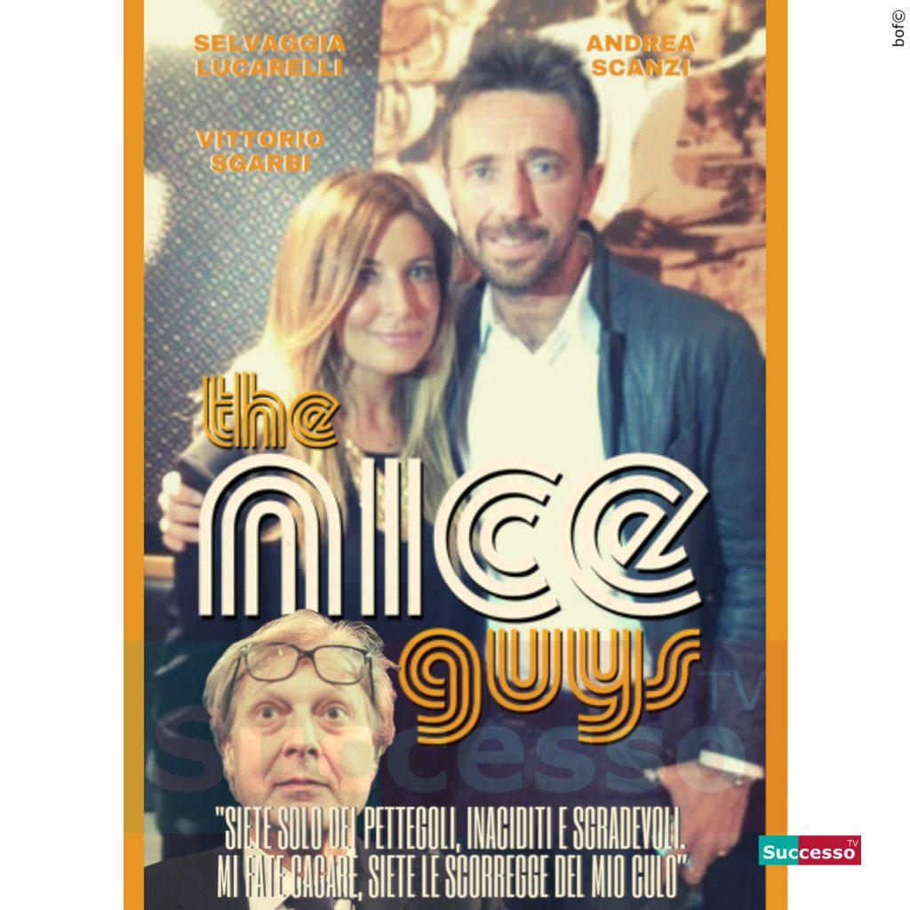 le cartoline di successo tv 2020 Andrea Scanzi Selvaggia Lucarelli
