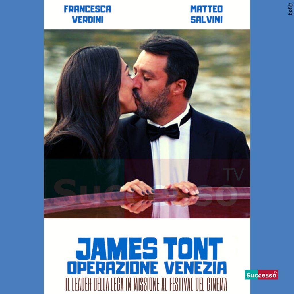 le cartoline di successo tv 2020 Matteo Salvini Venezia