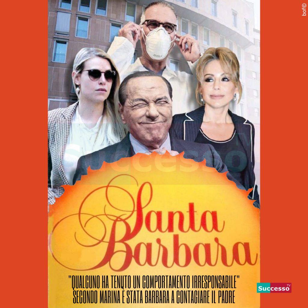 le cartoline di successo tv 2020 Silvio Berlusconi Coronavirus
