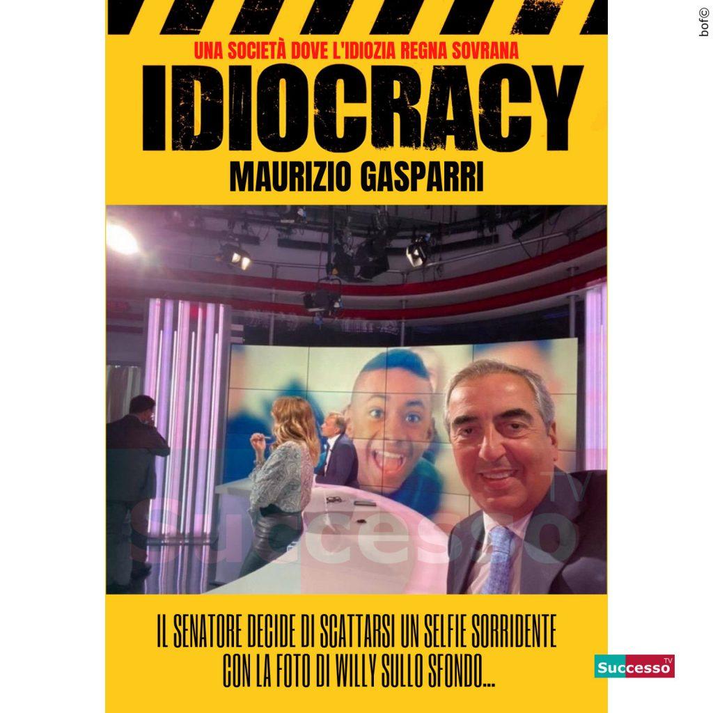 le cartoline di successo tv 2020 Gasparri Idiota