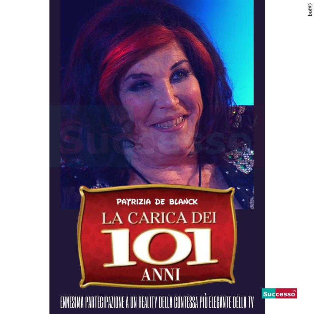 le cartoline di successo tv 2020 GFVip Patrizia De Blanck
