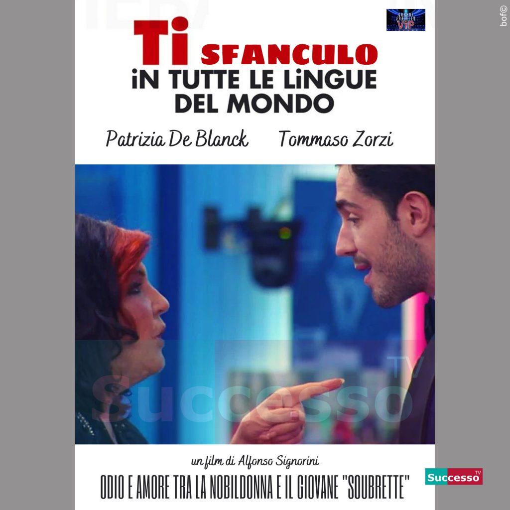 le cartoline di successo tv 2020 GFVip Patrizia De Blanck Tommaso Zorzi
