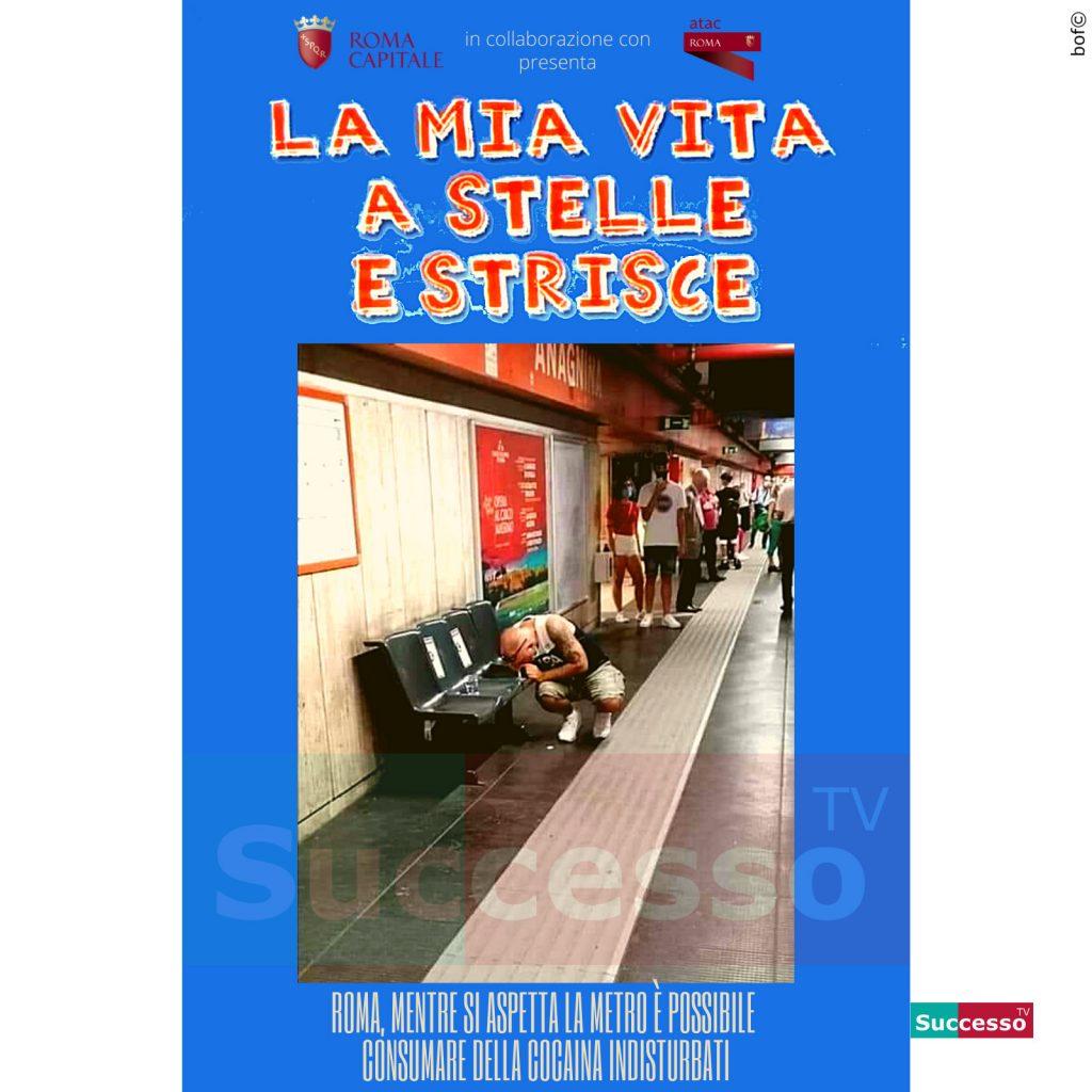 le cartoline di successo tv 2020 Cocaina Roma Metro
