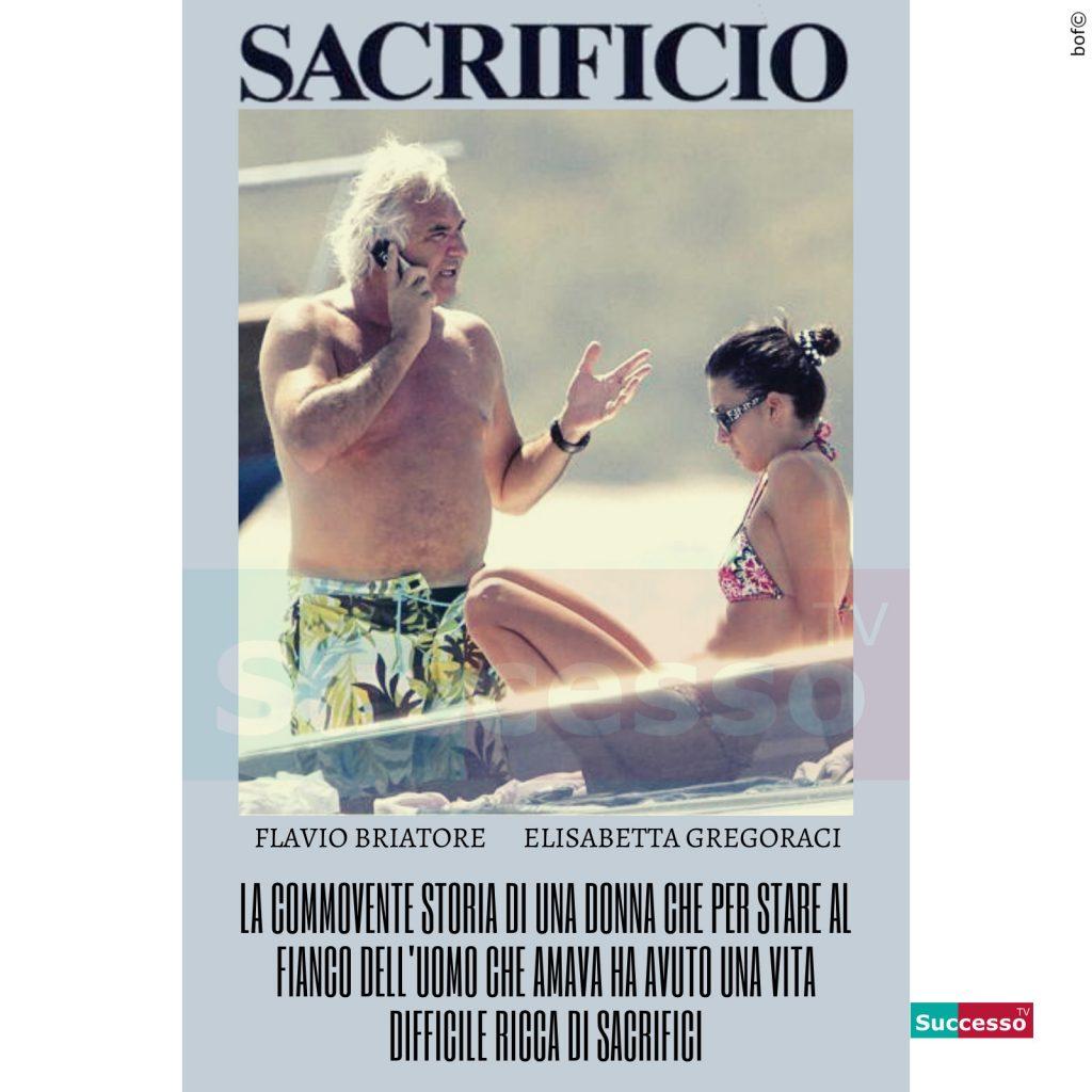 le cartoline di successo tv 2020 Flavio Briatore Elisabetta Gregoraci