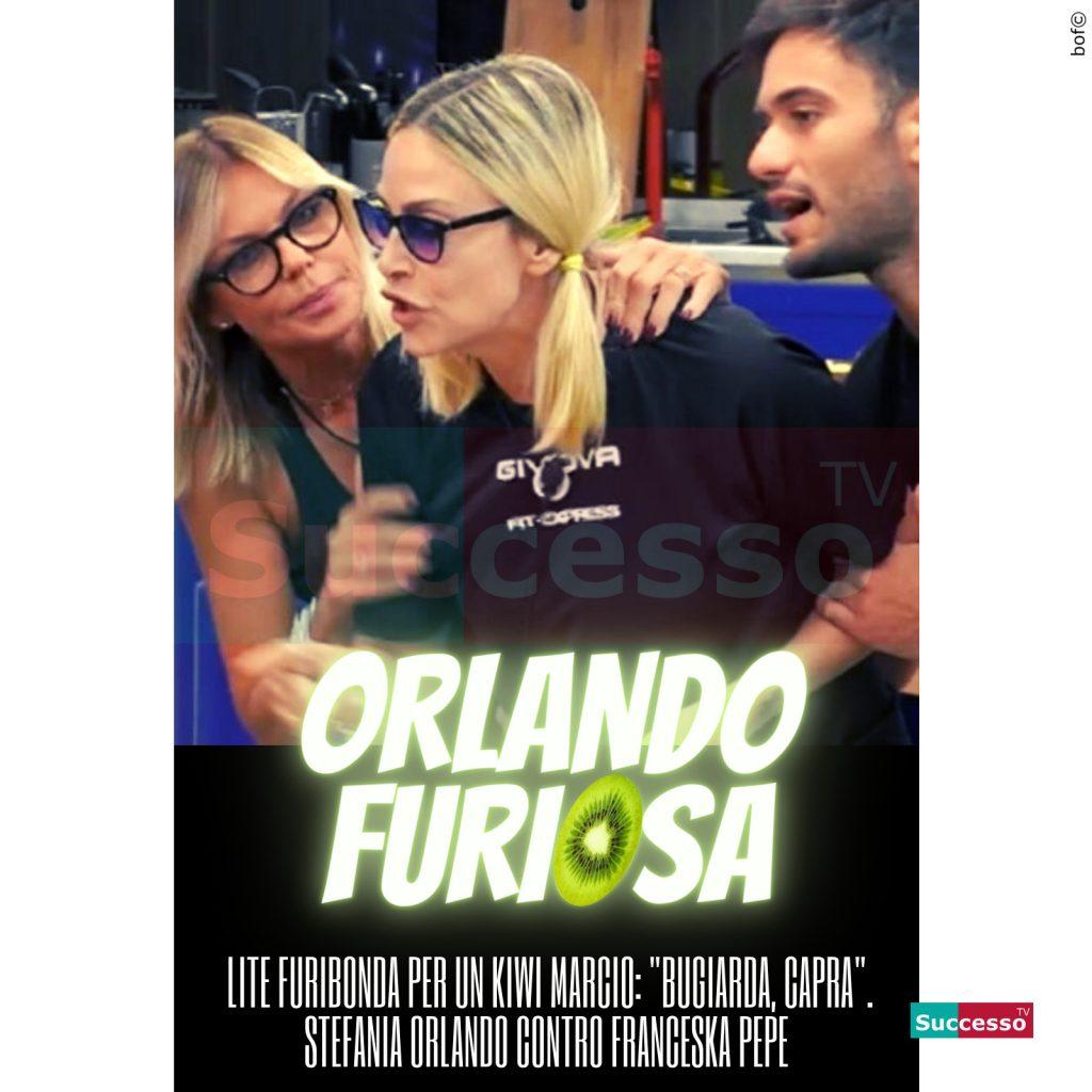 le cartoline di successo tv 2020 Gfvip Stefania Orlando