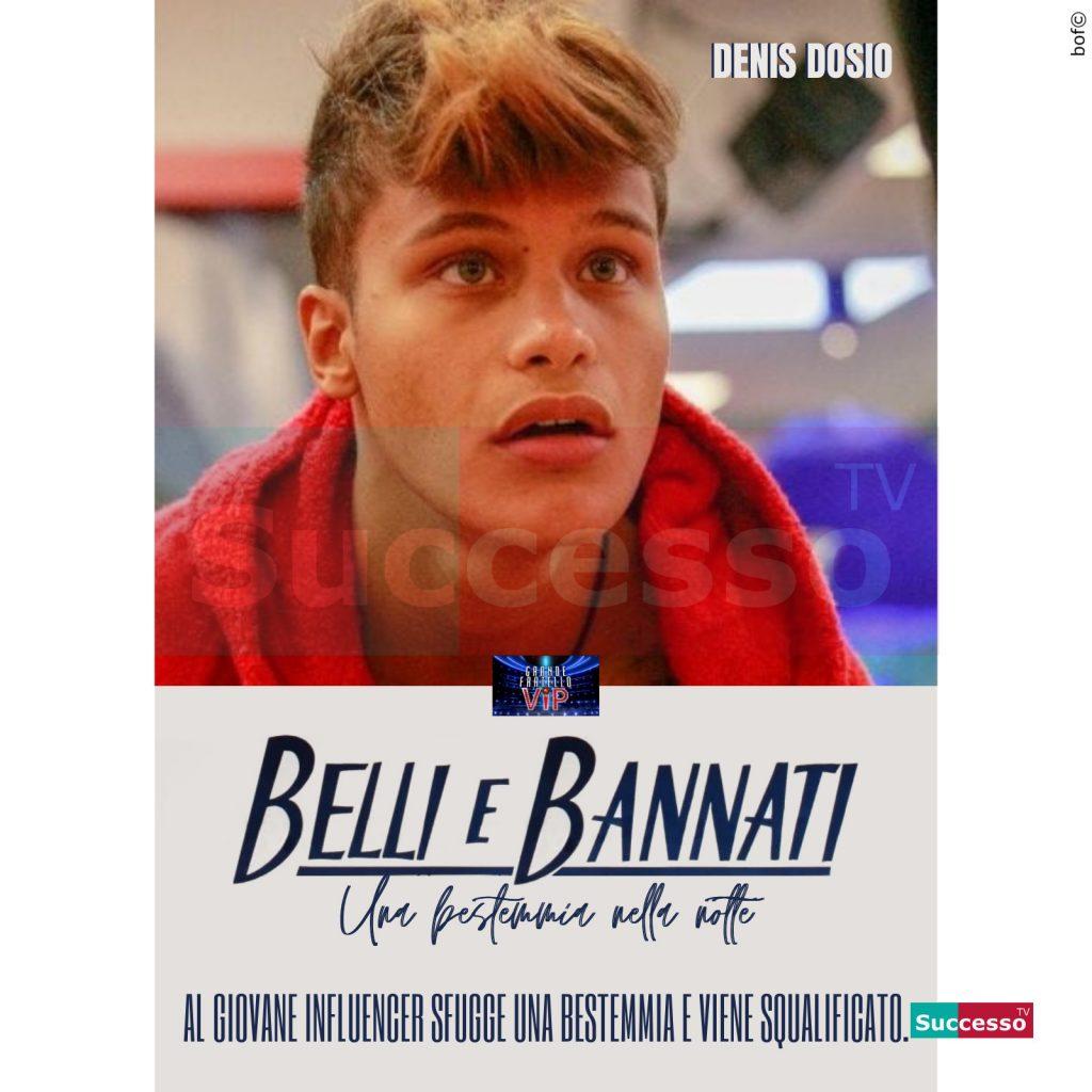 le cartoline di successo tv 2020 Gfvip Denis Dosio