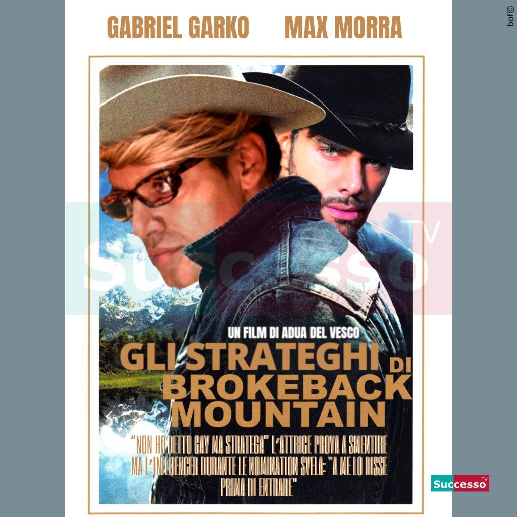 le cartoline di successo tv 2020 Gfvip Garko Adua Massimiliano Morra