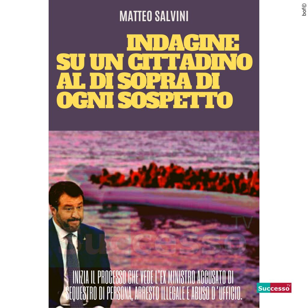 le cartoline di successo tv 2020 Matteo Salvini