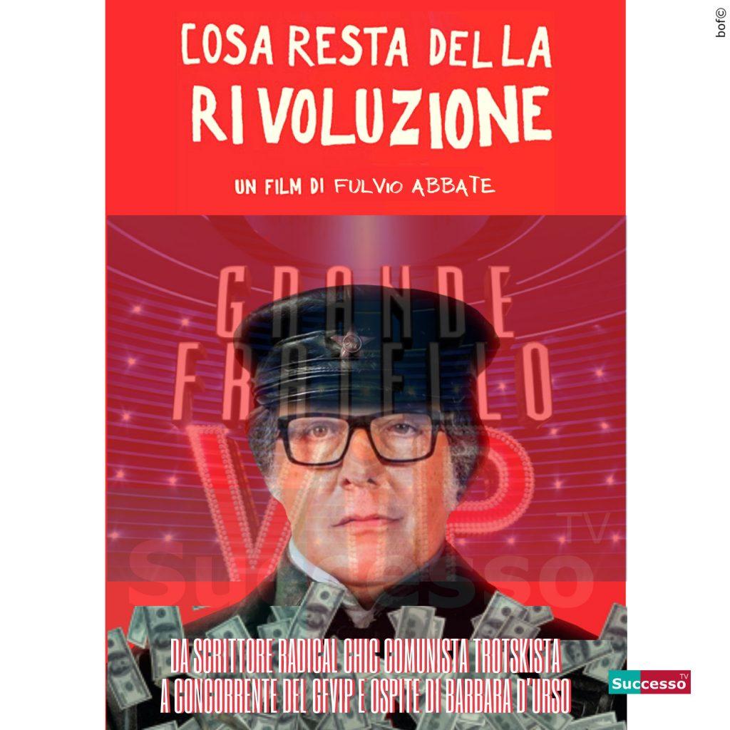 le cartoline di successo tv 2020 Gfvip Fulvio Abbate