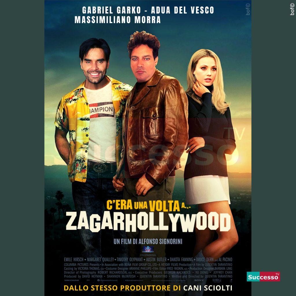 le cartoline di successo tv 2020 Gfvip Zagarhollywood