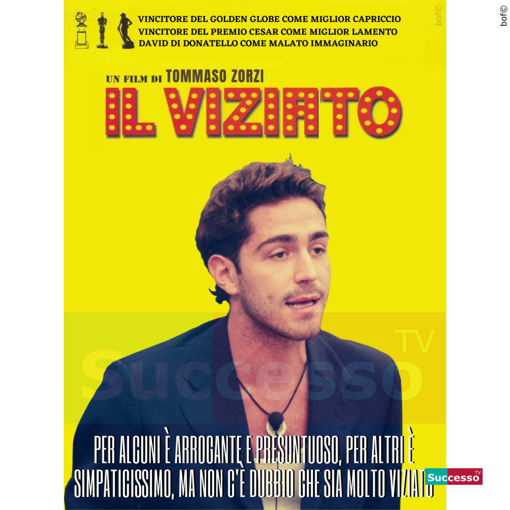 le cartoline di successo tv 2020 Gfvip Tommaso Zorzi
