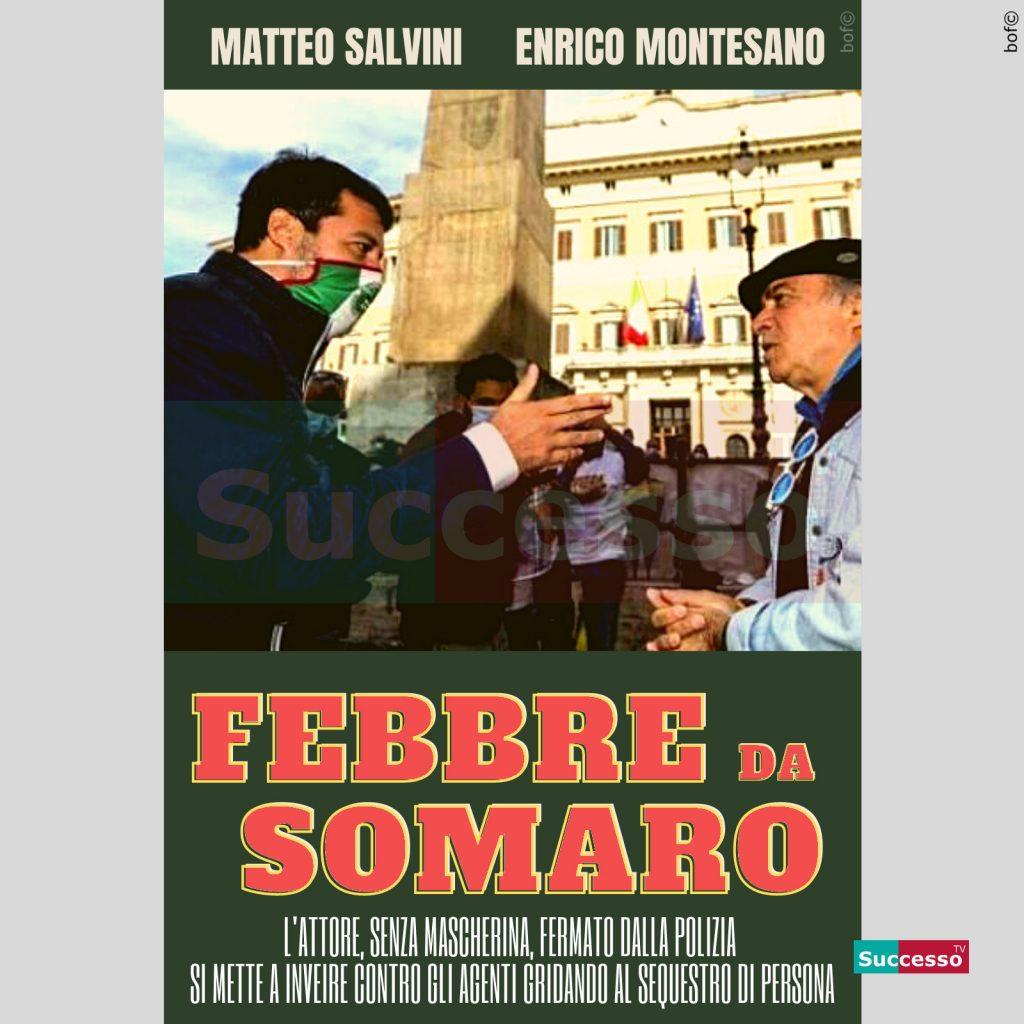 le cartoline di successo tv 2020 Coronavirus Montesano Salvini