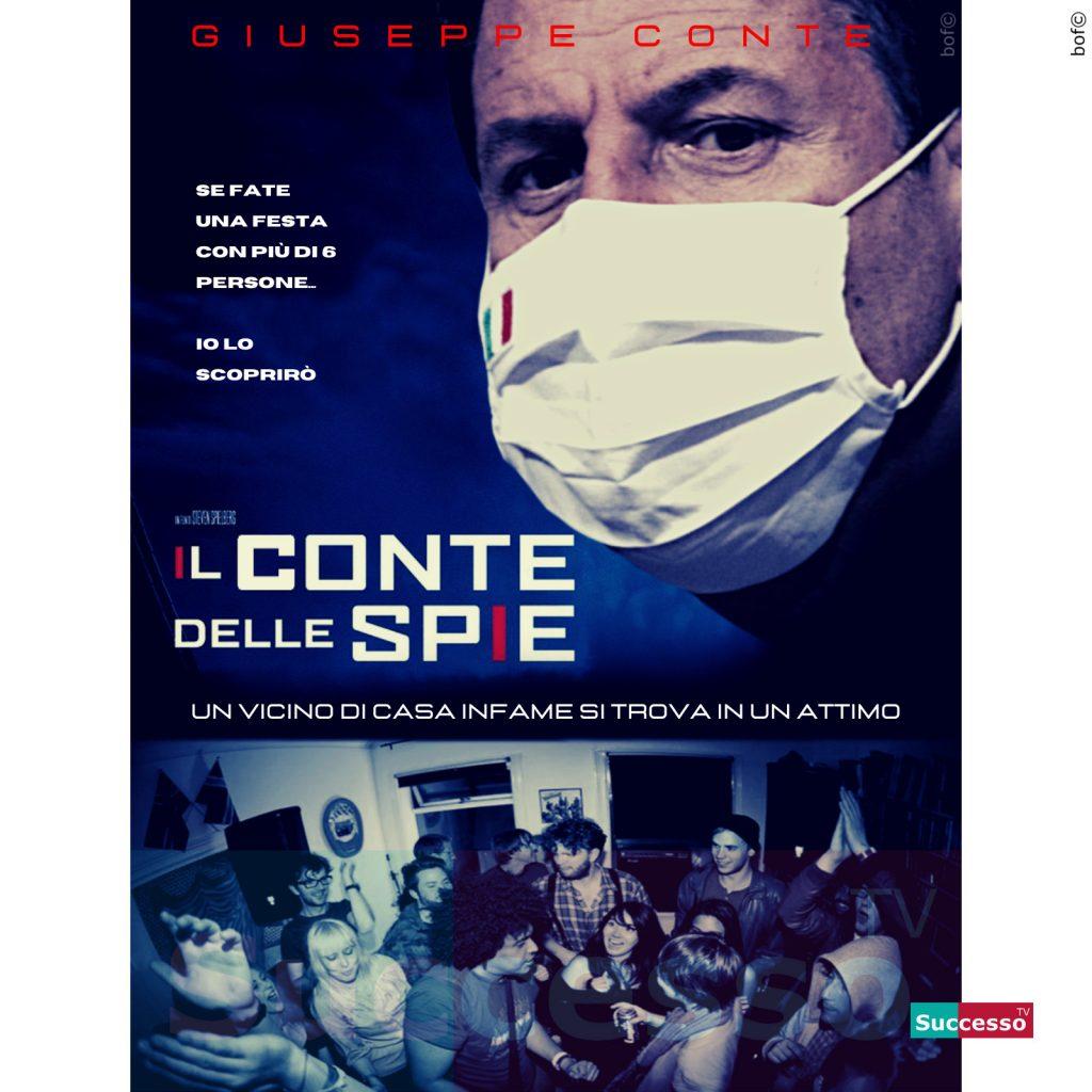 le cartoline di successo tv 2020 Coronavirus Giuseppe Conte