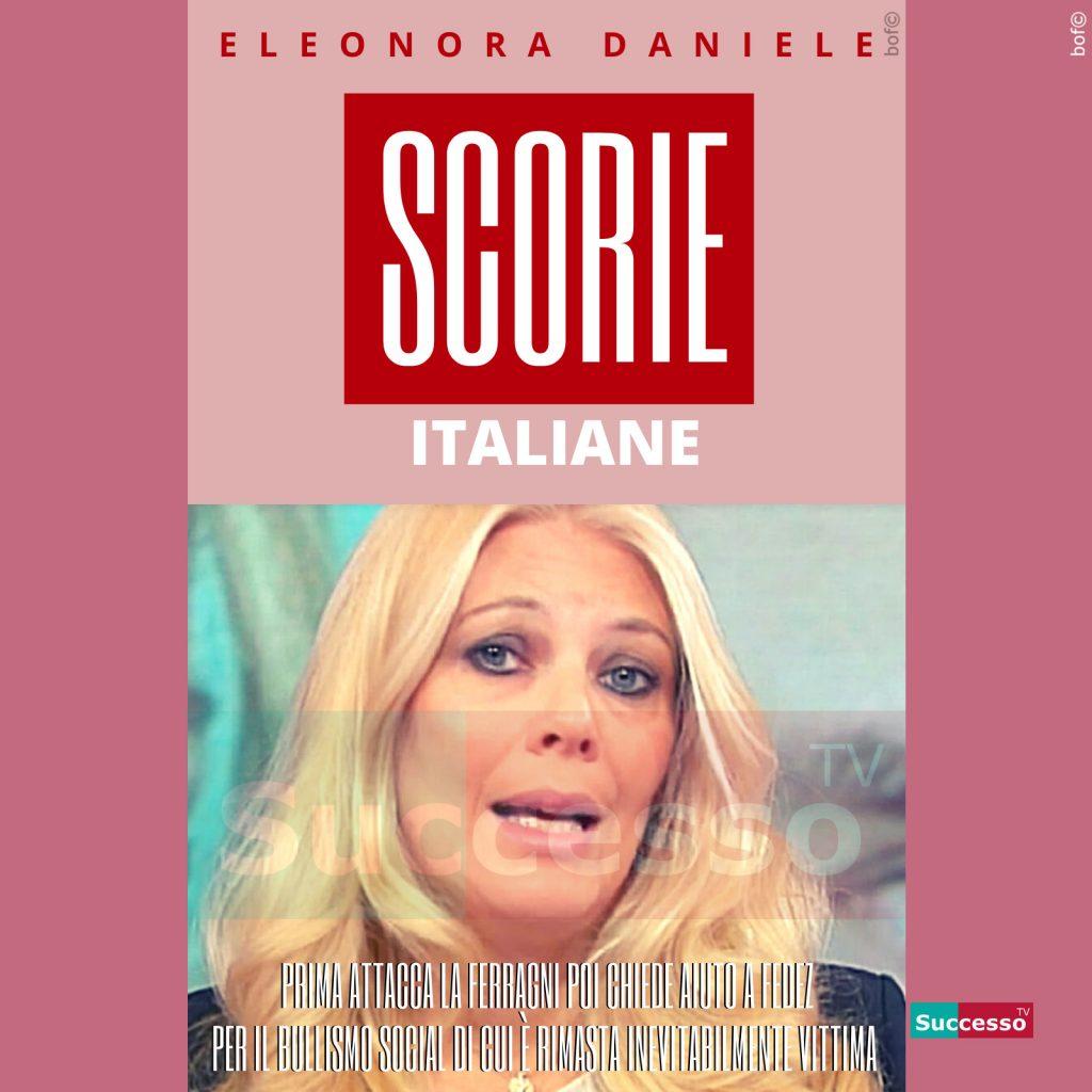 le cartoline di successo tv 2020 Eleonora Daniele Storie Italiane