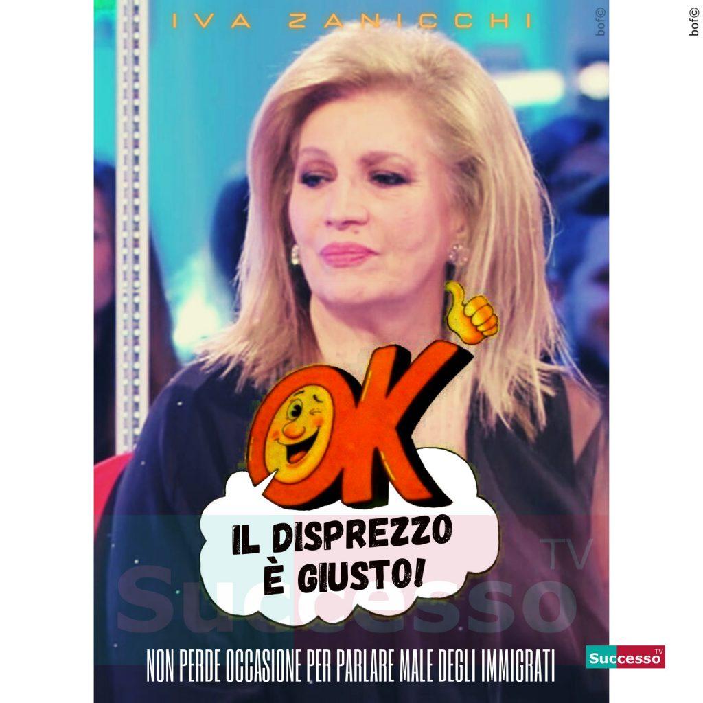 le cartoline di successo tv 2020 Iva Zanicchi