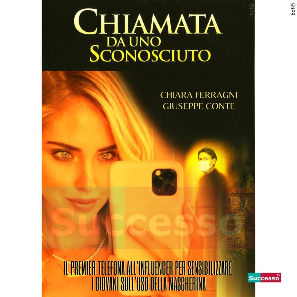 le cartoline di successo tv 2020 Chiara Ferragni Coronavirus Conte
