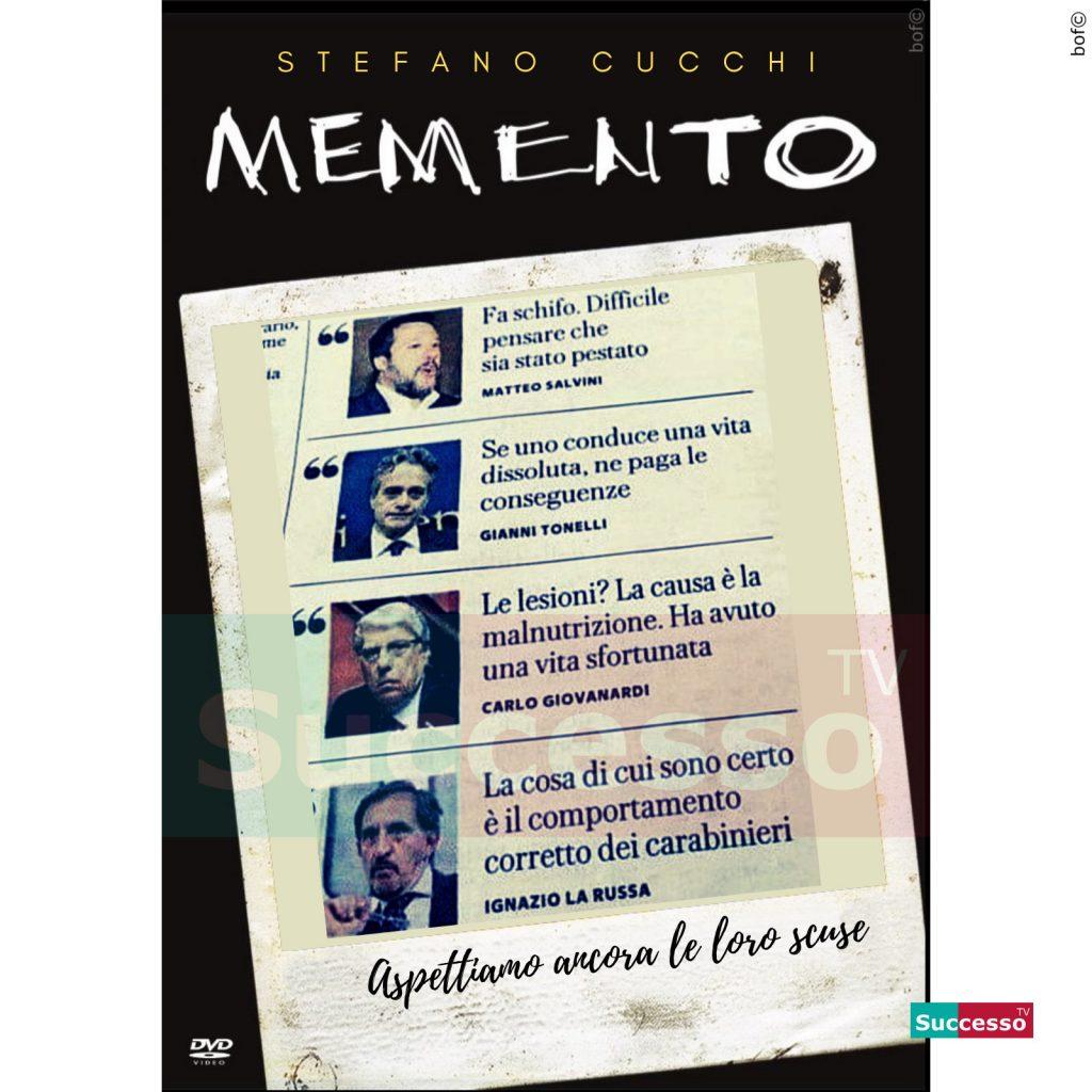 le cartoline di successo tv 2020 Stefano Cucchi
