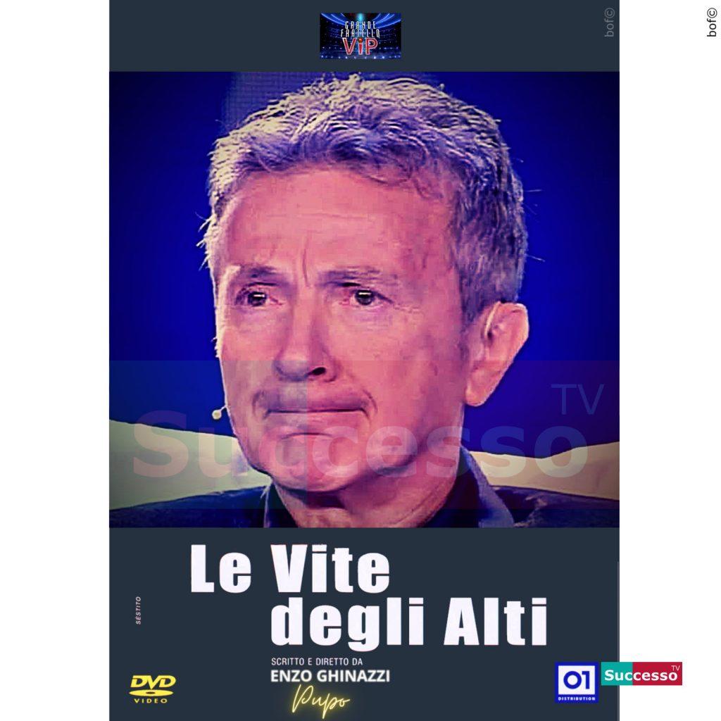 le cartoline di successo tv 2020 Gfvip Pupo