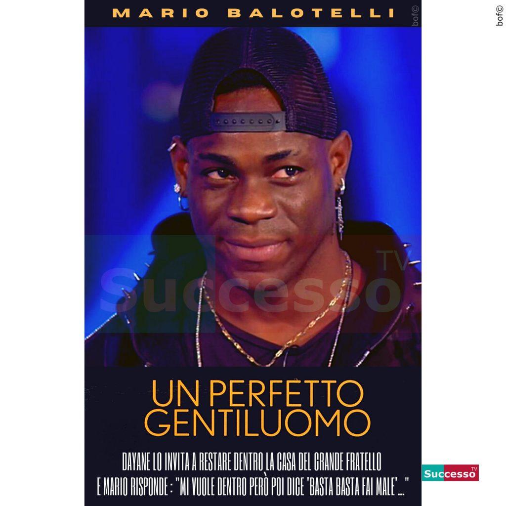 le cartoline di successo tv 2020 Gfvip Mario Balotelli