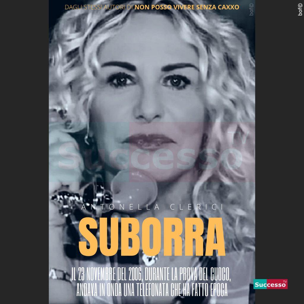 le cartoline di successo tv 2020 Antonella Clerici Borra Suburra
