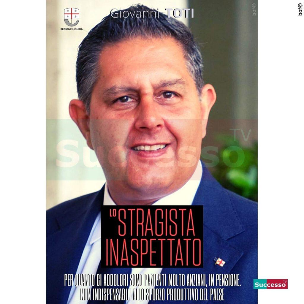 le cartoline di successo tv 2020 Giovanni Toti