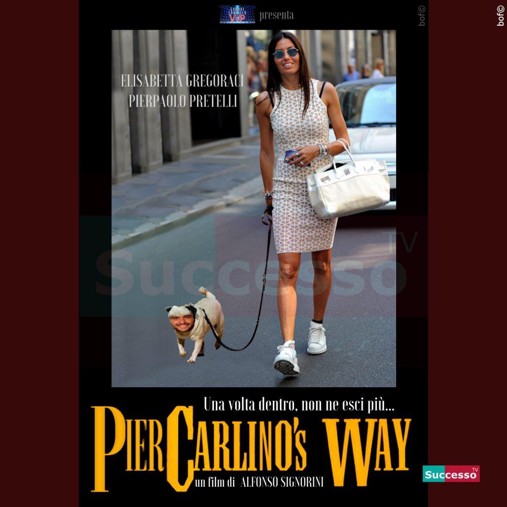 le cartoline di successo tv 2020 Gfvip Gregoraci Pretelli Gregorelli Piercarlino