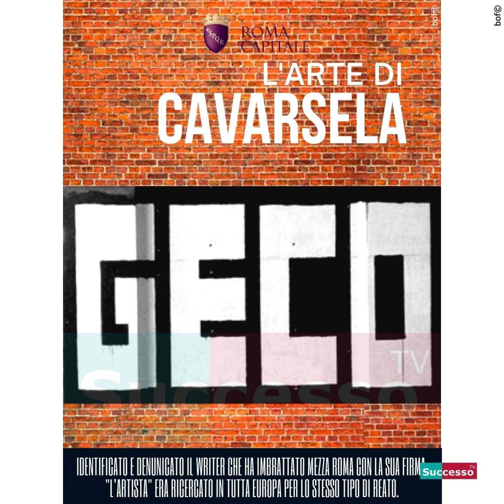 le cartoline di successo tv 2020 Geco Roma Writers Roma fa schifo