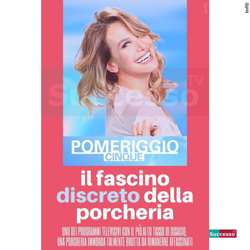 le cartoline di successo tv Barbara D'Urso Pomeriggio5