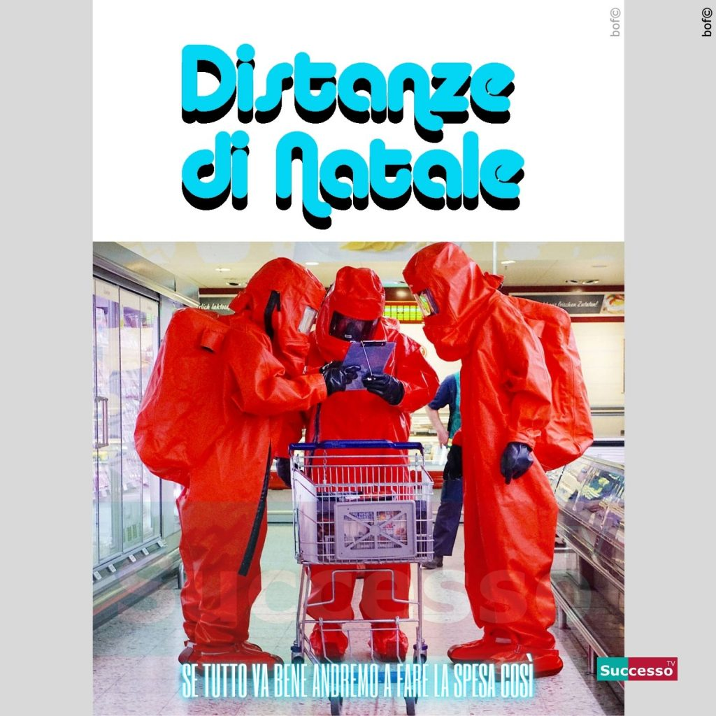 le cartoline di successo tv 2020 Coronavirus Lockdown Natale