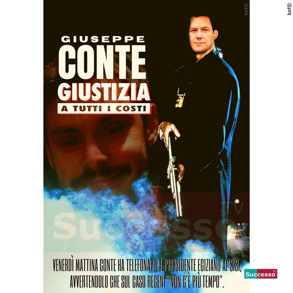 le cartoline di successo tv 2020 Giuseppe Conte Giulio Regeni Giustizia