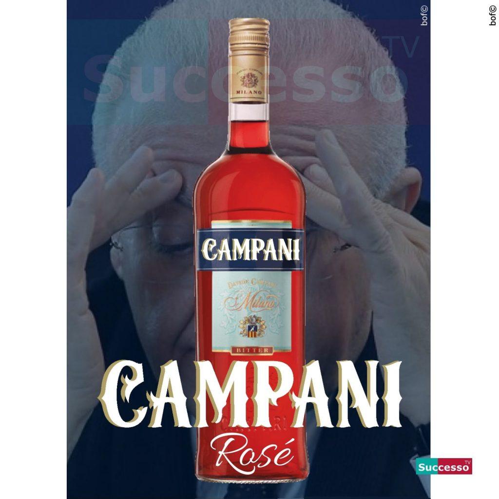 le cartoline di successo tv 2020 Vincenzo De Luca Zona Rossa Rose Rosé Coronavirus Lockdown